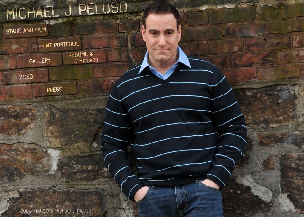 Michael J. Peluso actor and model home page